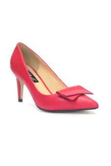 Giày Cao Gót 7 Phân Bít Mũi (Đỏ)