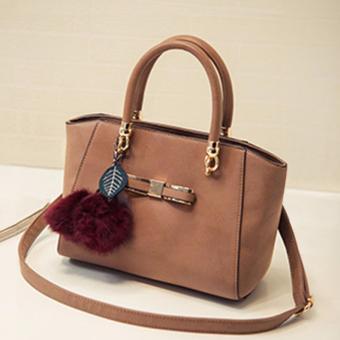 Túi xách nữ cao cấp phong cách Hàn Quốc JLD089 (Nâu vàng) - 3709765