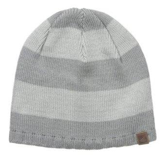 Mũ (nón) len nam sọc Trắng/xám Sperry Top-Sider Men's Breton Striped Beanie (Mỹ)