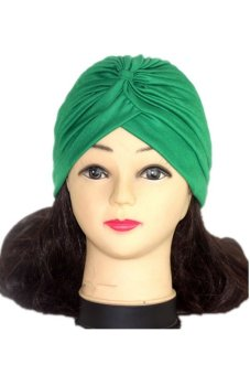 Lalang Adult Unisex Fashion Scarf Hat Green