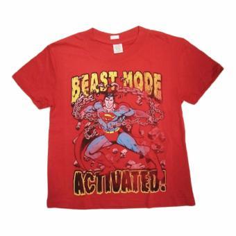 Áo thun thời trang cho bé trai Superman Đỏ - Tay ngắn