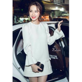 Đầm suông nhẹ nhàng tinh tế Xavia Clothes Dove