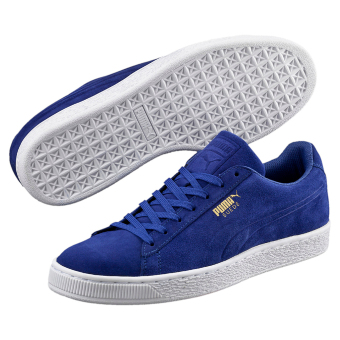 Giày thể thao nam Puma Suede Classic Debossed (Xanh)