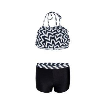 Sets bikini short + áo tắm bèo