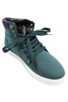 LALANG Casual Men's Sneakers Tennis Shoes - Green - intl