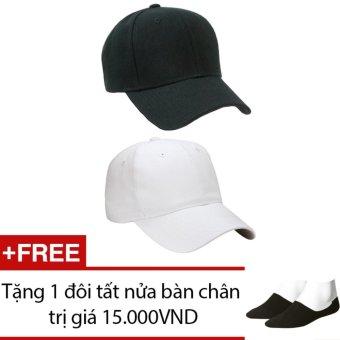Bộ 2 Mũ Nón Lưỡi Thai Thể Thao Nam Nữ Chipxinhxk