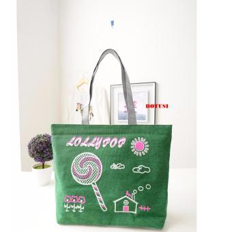 Túi tone xách đeo vai BOTUSI -CANDY04 (GREEN)