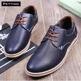 giày tây nam cao cấp - Pettino GD01 (xanh)