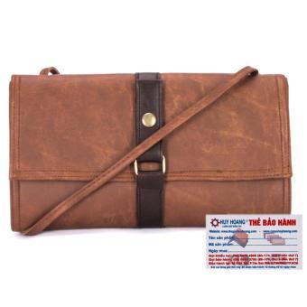 HL6130 - Túi xách thời trang Huy Hoàng màu bò đậm
