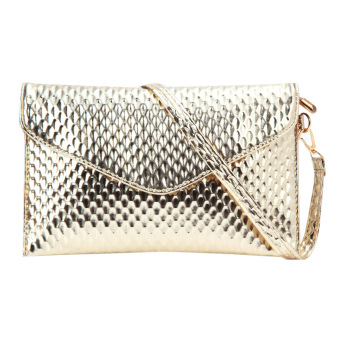 Fashion Lady Clutch Wallet (Golden) - Intl - intl