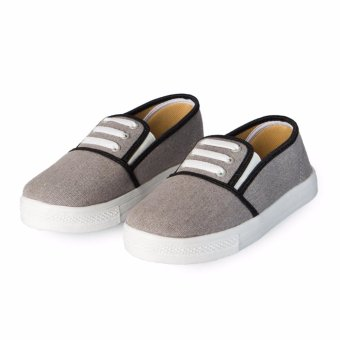 Giày Slip On 3 dây nữ CS1405 (Xám)