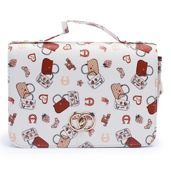 Túi nữ hộp Happy F MS.136.4 (Họa tiết)