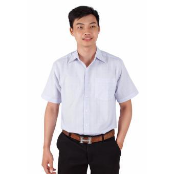 Áo Sơ Mi Nam Big Size Họa Tiết Sọc Trắng Xinh Store
