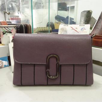 Túi nữ da cao cấp DaH2 TN1683 (màu tím)