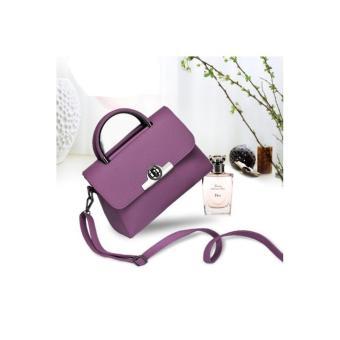 Túi xách nữ thời trang, kiểu dáng thanh lịch H373(Tím khoai môn)