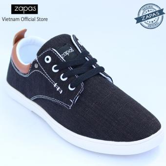 Giày Sneaker Zapas Classcial Màu Đen GZ010 - Hãng Phân Phối Chính Thức