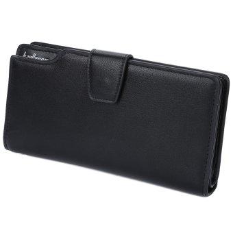 Men Multi Functional Vertical Wallet (Black) - Intl