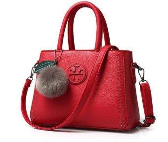 Túi xách nữ da cao cấp PG BAG T6969-23-2A3 ĐỎ