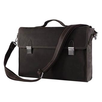 Túi công sở da thật KIKI Bags K13 (Đen)