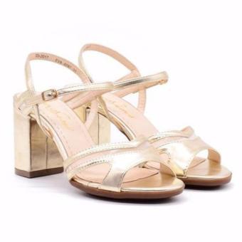 Sandal cao gót Evashoes Eva0787 Kem vàng