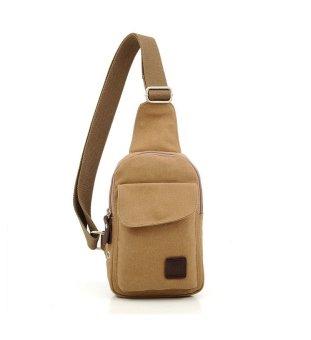 Túi đeo chéo dành cho nam thêm cá tính (Nâu nhạt)