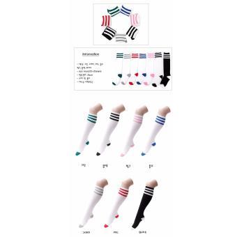 Vớ thời trang nhập khẩu Hàn Quốc hiệu Aglaia màu xanh/ghi