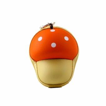 HKS Cartoon Mushroom Scalable Wallets (Orange) - intl