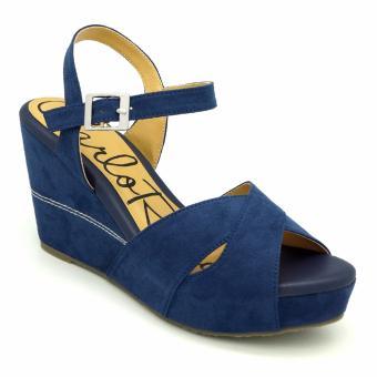 Giày đế xuồng Carlo Rino 333000-200-13 (xanh dương)