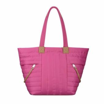 Túi Nine West Zippered Up Tote (hồng)