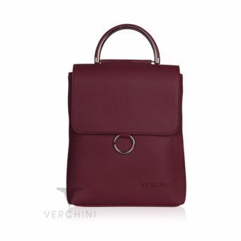 Balo Verchini màu đỏ vân 004533