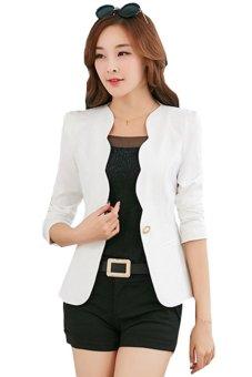 Áo vest nữ gợn sóng LV362 (Trắng)
