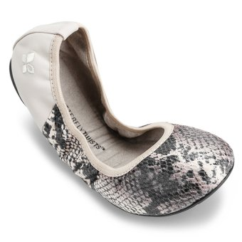 Giày búp bê nữ VIVIENNE METALLIC BT1036-002 (Stone)
