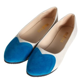 Women's Ballet Single Shoes (Blue) - INTL