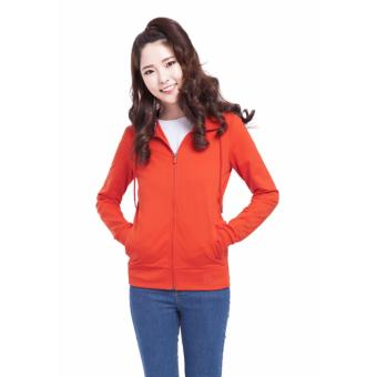 Áo khoác da cá nữ chống nắng LN01 (Đỏ)
