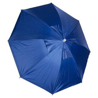 Foldable Sun Umbrella Outdoor Headwear Cap - Intl