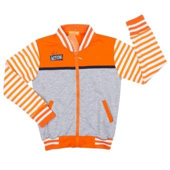 Áo khoác bé trai BT50730 (Cam xám)