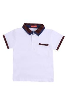 Áo thun ngắn tay bé trai V.T.A.Kids BT41105T (Trắng)