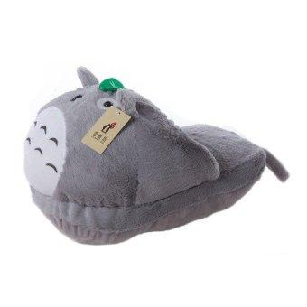 Dép bông Totoro đệm chân ngồi máy tính