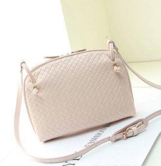 1PC Women Hobo Shoulder Bag Faux Leather Satchel Crossbody Tote Handbag - intl