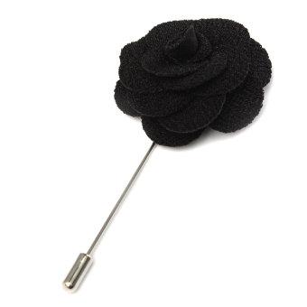 Lapel Flower Daisy Handmade Boutonniere Stick Brooch Pin Men's Accessories 12 - Intl