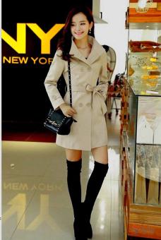 Áo khoác kaki nữ sành điệu TAT16K (Kem).