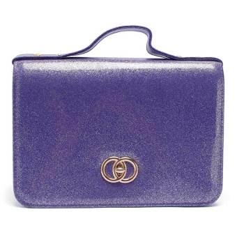 Túi nữ hộp Kim tuyến Happy F MS.137.1 (Tím)