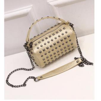 Túi xách thời trang dạng trống LVH-4(vàng đồng)