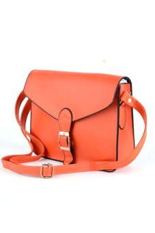 Cyber Women Lady Shoulder Bags Messager Purse Handbag Tote Bag (Orange) - intl