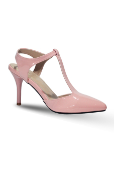 Giày cao gót 7 phân ANALE (Kem)