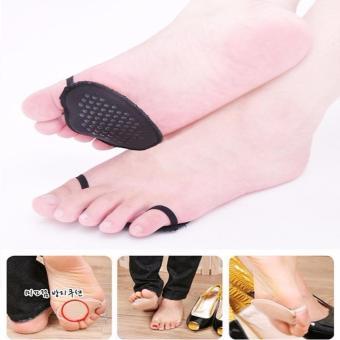 Combo 2 Miếng lót giầy vải xỏ ngón Chodeal24h (đen)