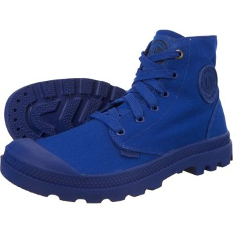 Giày thời trang unisex Palladium 73089-427-M (Mono Xanh)