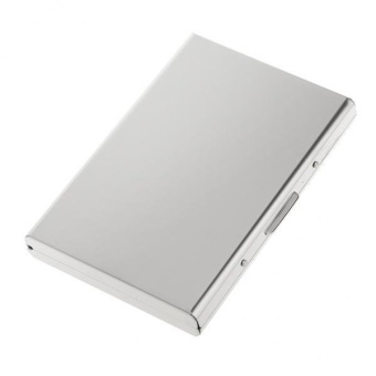 BolehDeals Mirror Surface Metal ID Credit Business Card Holder Case Wallet #1 - intl