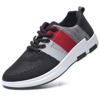 Fashion Men Sneaker Mesh Breather Shoes Casual Shoes - intl