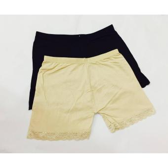 Bộ 3 Quần Đùi Mặc Trong Váy Cotton Kín Đáo Qdv172 (da)